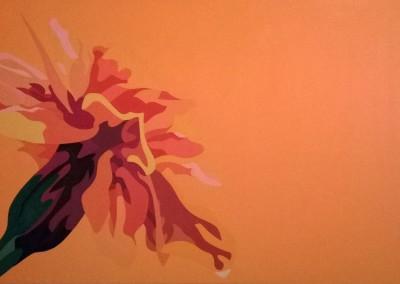marigold on orange