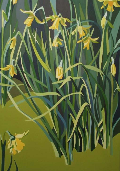 Winter – Tall daffodile and tangled foliage